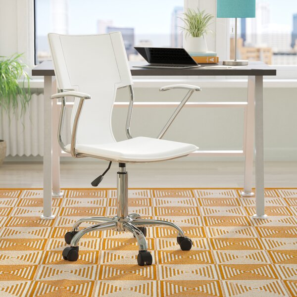Lindbergh High-Back Desk Chair by Wrought Studio