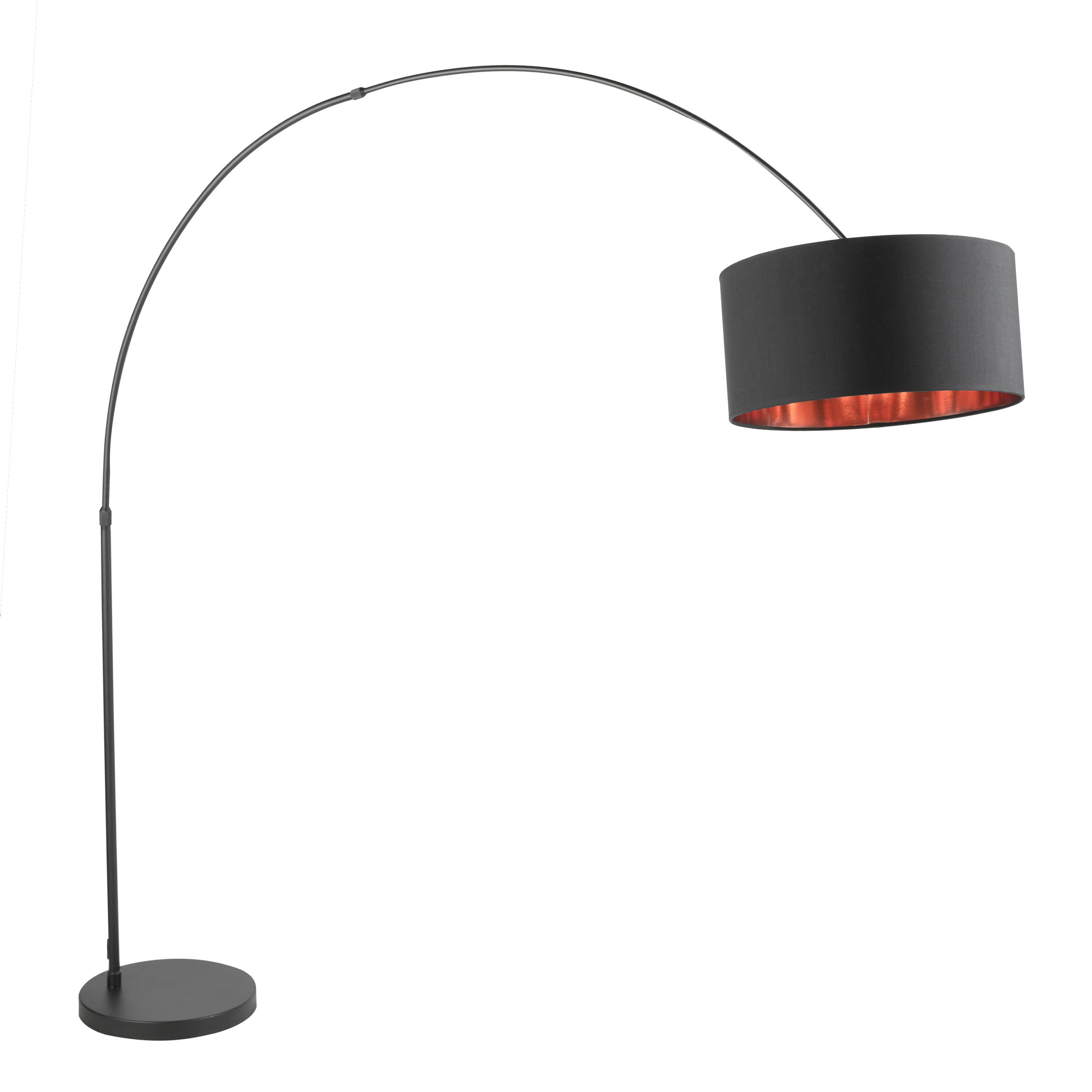 Jessup 76 Arched Arc Floor Lamp