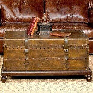 Laramie Trunk Coffee Table Sarreid Ltd