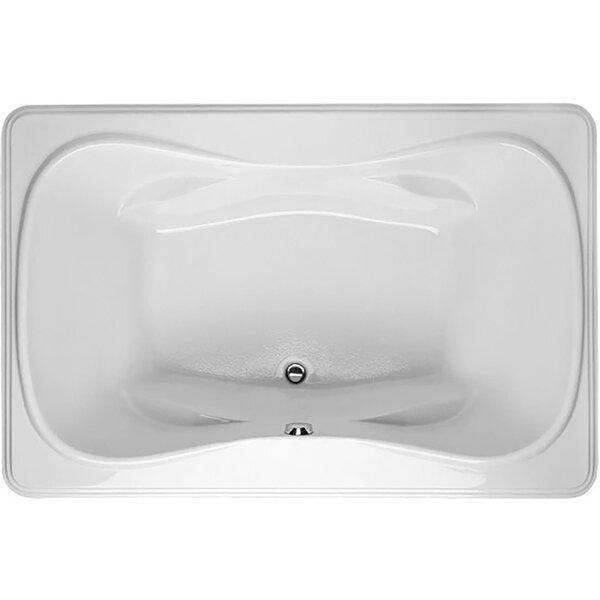 Designer Jennifer 72 x 48 Air Tub by Hydro Systems