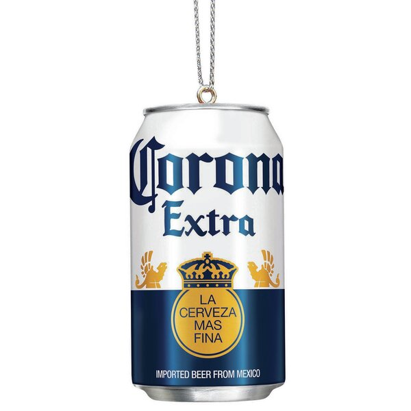 Corona Beer Can Hanging Figurine by Kurt Adler