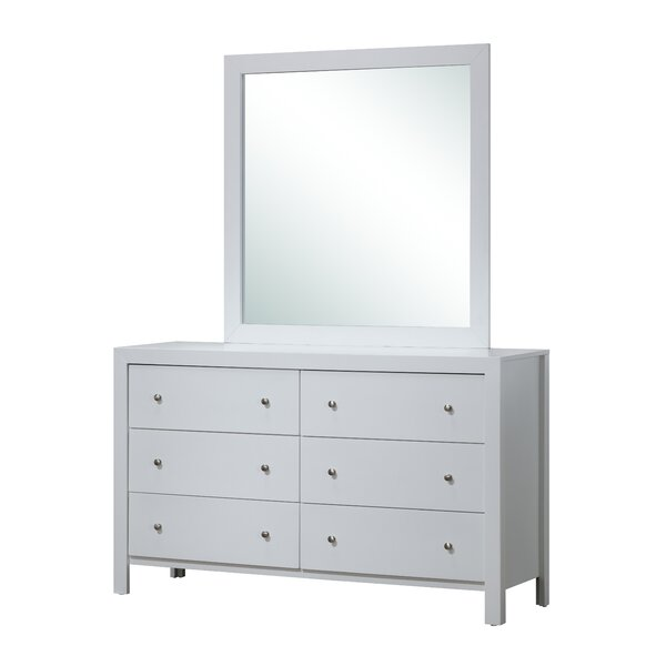 Brennen Rectangular Dresser Mirror by Latitude Run
