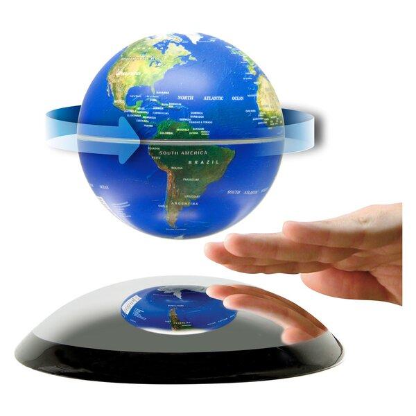 Levitating Globe by Orren Ellis