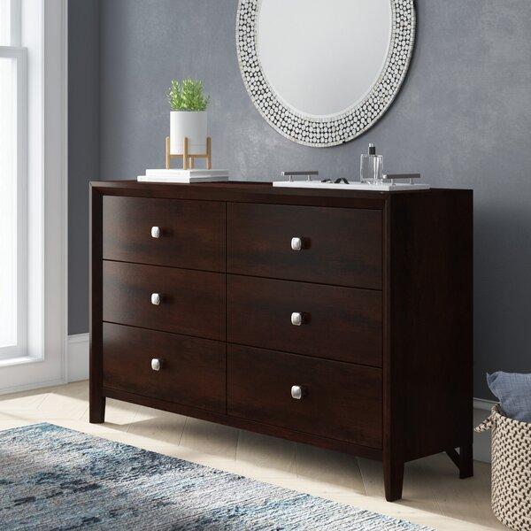 Chara 6 Drawer Double Dresser by Latitude Run