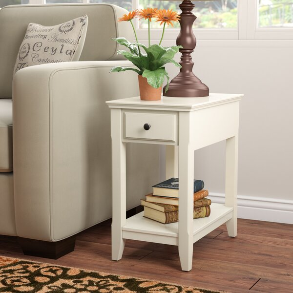 Hillyard End Table With Storage By Andover Mills™