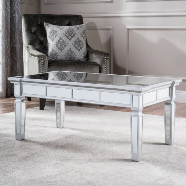 Walsall Mirrored Coffee Table By House Of Hampton