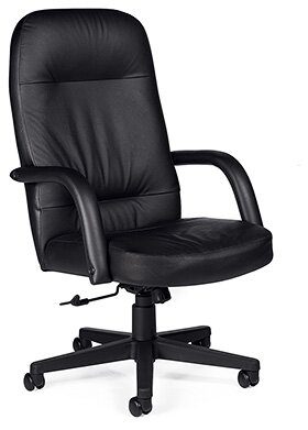 Sienna Leather Executive Chair by Global Total Office