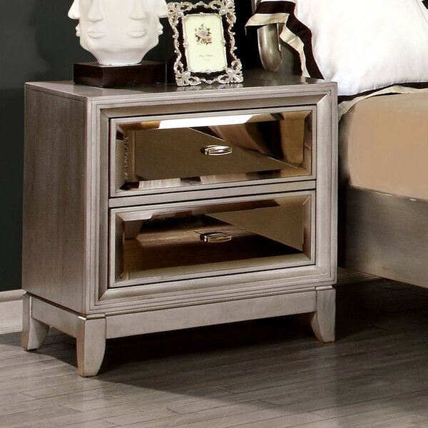 Guerrero 2 Drawer Nightstand By Willa Arlo Interiors by Willa Arlo Interiors Wonderful