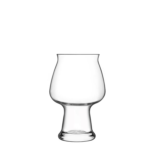 Birrateque 17 oz. Crystal Pint Glass (Set of 2) by Luigi Bormioli