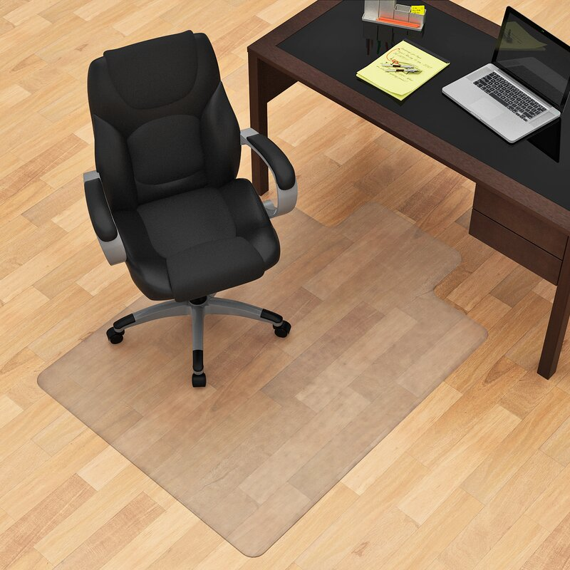 Merveilleux Hard Floor Straight Edge Chair Mat