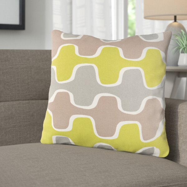 Arsdale Square Cotton Throw Pillow by Langley Street