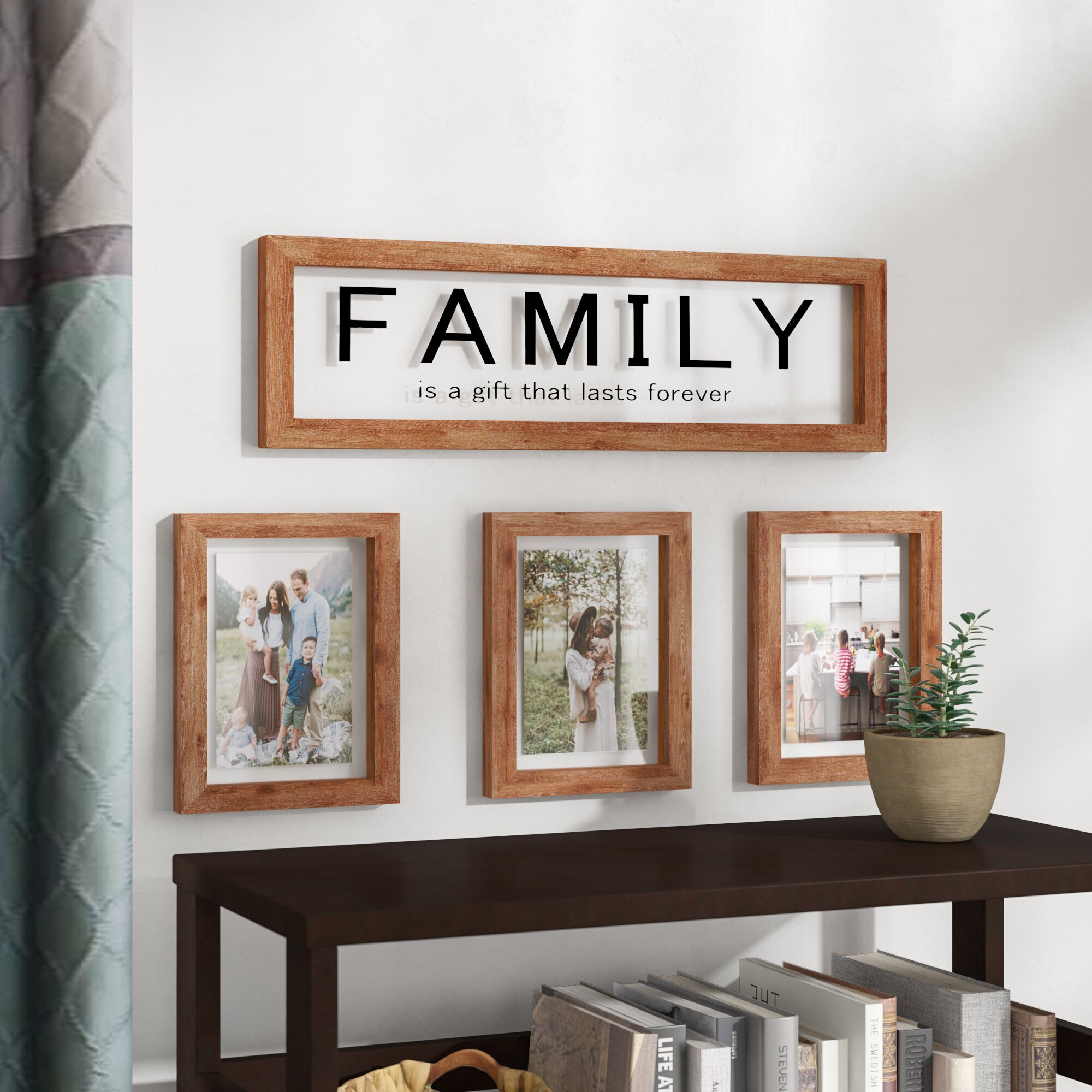 8 x 8 Glory Haus Always Live Original Wood Clip Frame