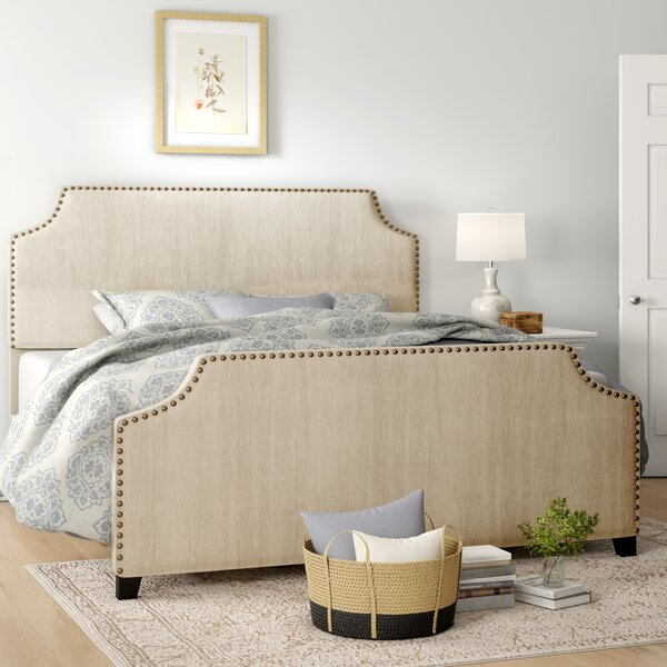 Katina Upholstered Standard Bed by Birch Lane™ Heritage