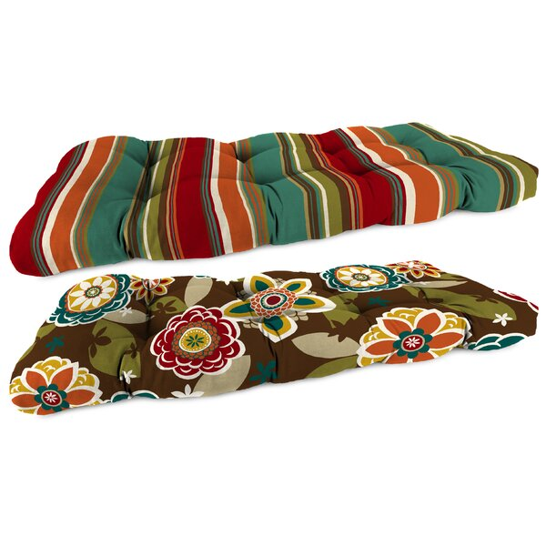 Indoor/Outdoor Bench Cushion by Jordan Manufacturing