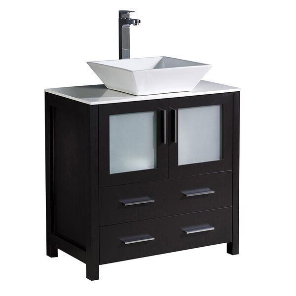 Torino 30 Single Bathroom Vanity Set by Fresca
