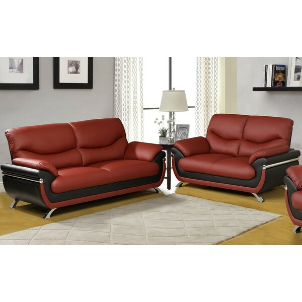 Donahue 2 Piece Living Room Set by Orren Ellis