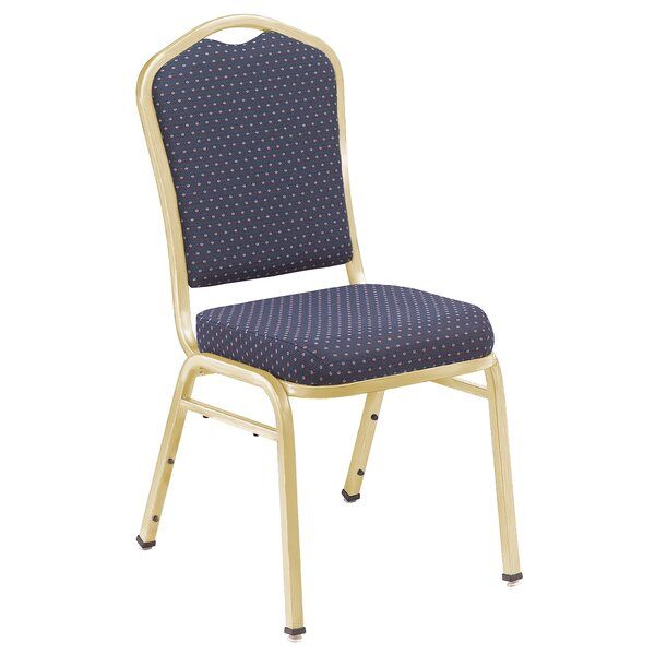 Series 9300 Crown Back Banquet Chair By National Public Seating.
