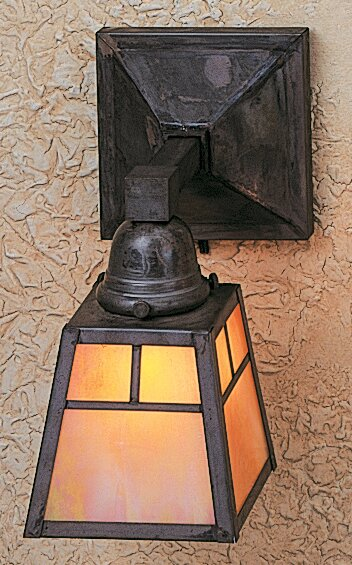 A-Line 1-Light Wall Sconce Arroyo Craftsman AYO1039