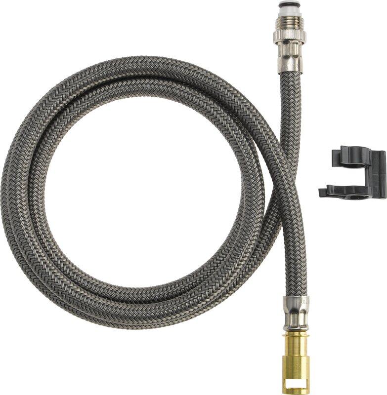 delta palo pullout spray hose pullout kitchen faucet & reviews