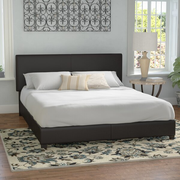 Oxford Upholstered Standard Bed By Winston Porter by Winston Porter 2020 Sale