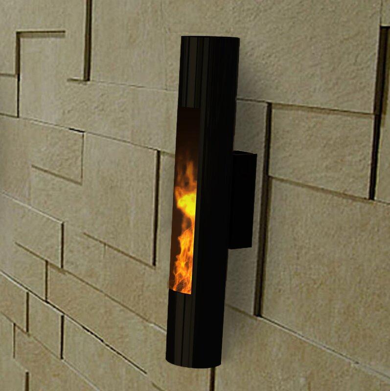 Lumin Sconce Wall Mounted Bio Ethanol Fireplace