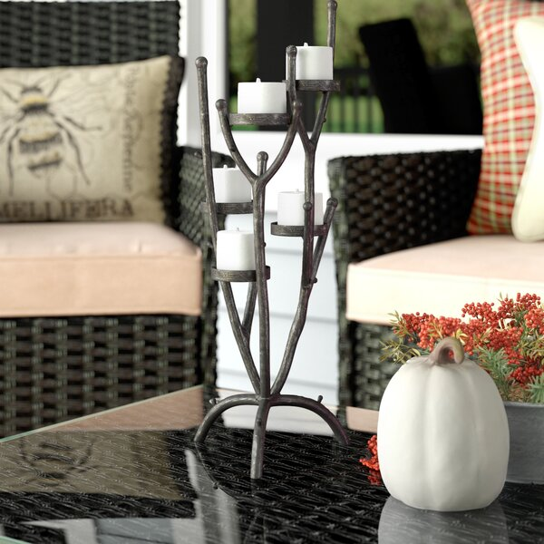 Metal Candelabra by Union Rustic