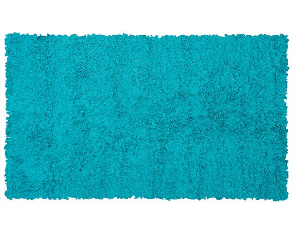 Handmade Teal Area Rug by The Conestoga Trading Co.