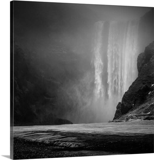 The Falls by Herve Loire Photographic Print on Canvas by Canvas On Demand