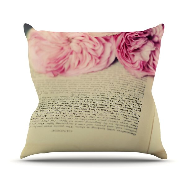 A Good Read Outdoor Throw Pillow by East Urban Home