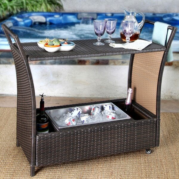 Armonk Cancun Bar Serving Cart by Brayden Studio Brayden Studio