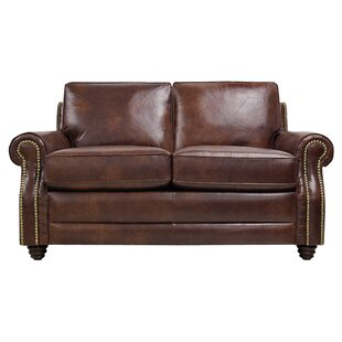 Halligan Leather Loveseat