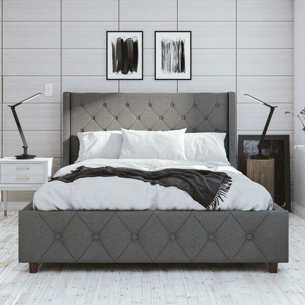 Mercer Upholstered Platform Bed by CosmoLiving by Cosmopolitan CosmoLiving by Cosmopolitan
