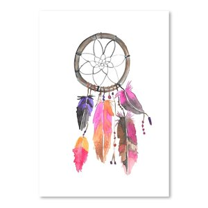 'Dreamcatcher 3' Print by Bungalow Rose