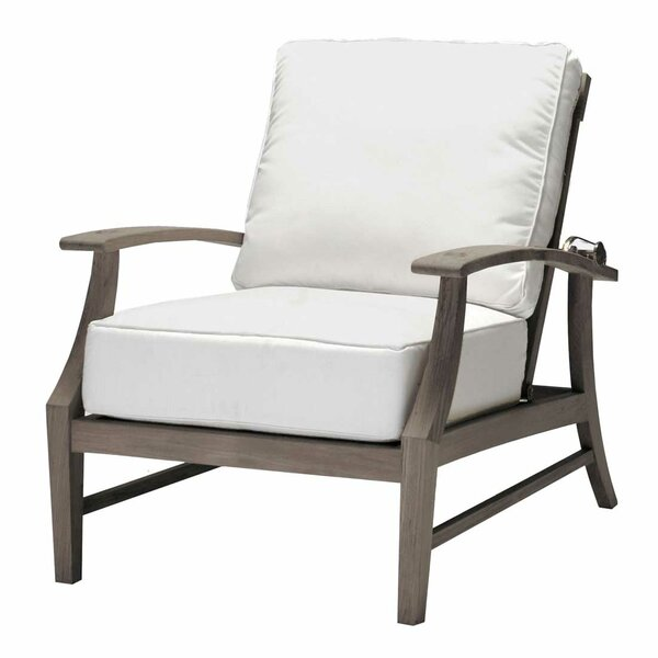 Croquet Recliner Patio Chair with Cushions by Summer Classics