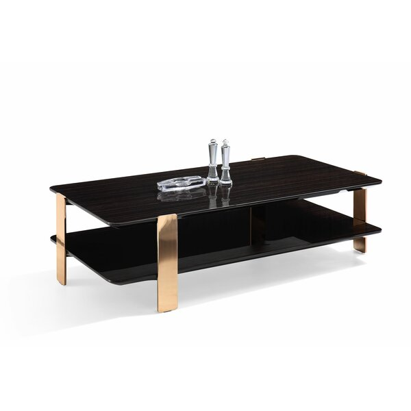 Trimble Coffee Table With Storage By Everly Quinn