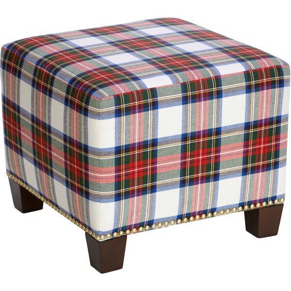 Glasgow Cube Ottoman by Skyline Furniture