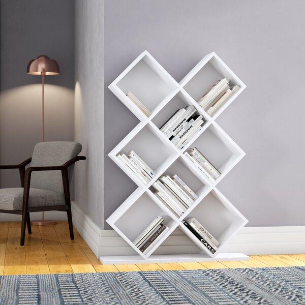 Burkart Geometric Bookcase By Ivy Bronx