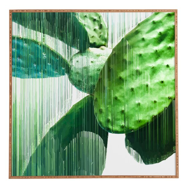 Fast Cacti Framed Graphic Art by Bay Isle Home