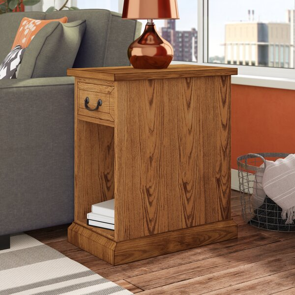 Schueller Chairside Table by Darby Home Co