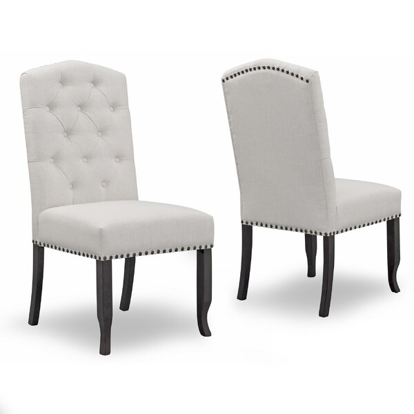 Chesson Upholstered Dining Chair (Set of 2) by Darby Home Co