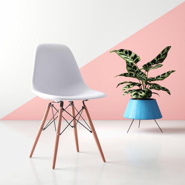 Enjoyable Mid Century Eiffel Side Chair Wayfair Machost Co Dining Chair Design Ideas Machostcouk