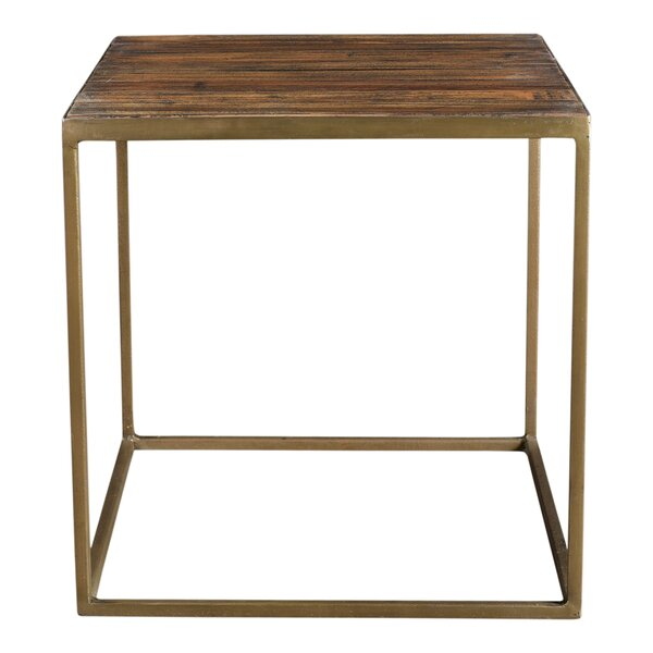 Alivia End Table by Modern Rustic Interiors