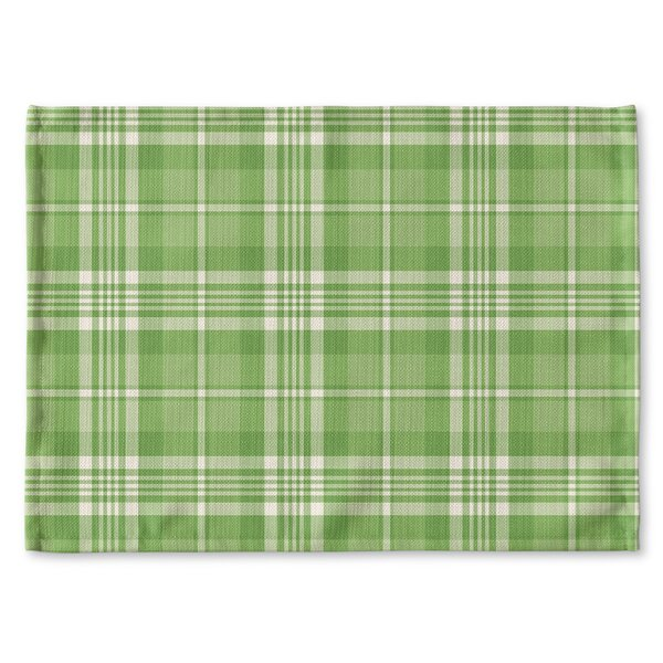 Leeanne Plaid Placemat by Latitude Run