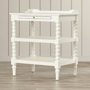 White Lacquer Nightstand Small Shelf Gray Night Stand Gold Bedside Table Dark Wood