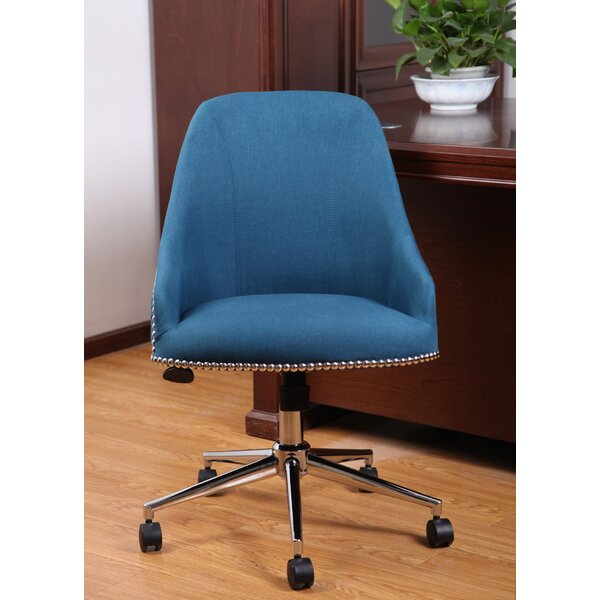 Ried Mid-Back Desk Chair by Mercury Row
