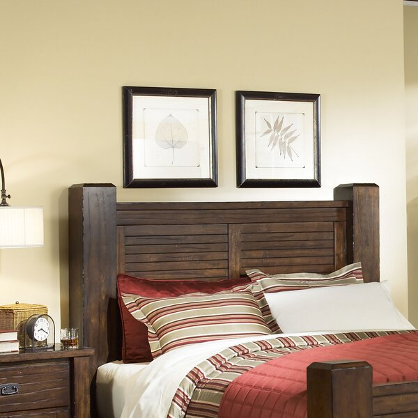 Bison Ridge Panel Headboard by Loon Peak
