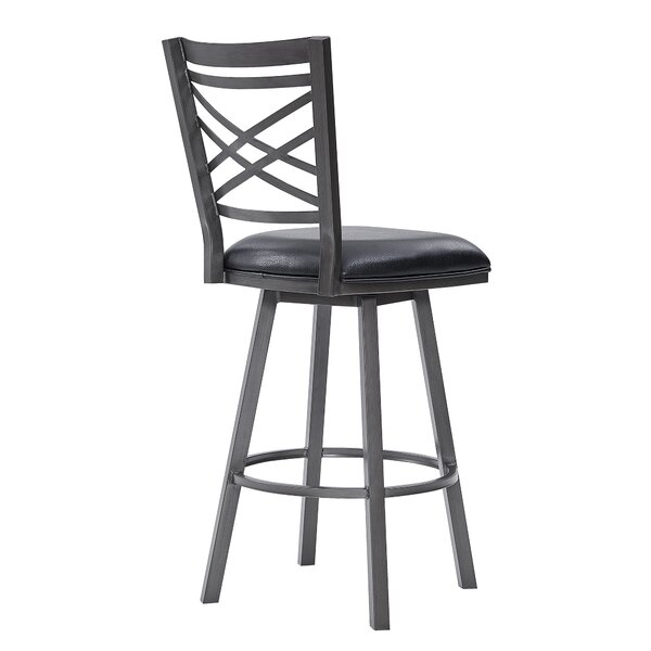 Sighbiorn Swivel Counter & Bar Stool By Gracie Oaks