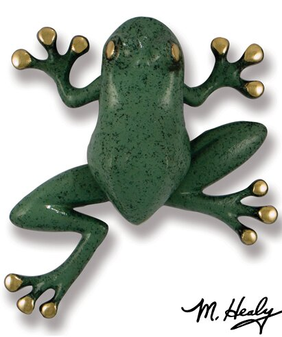 Tree Frog Door Knocker by Michael Healy Designs