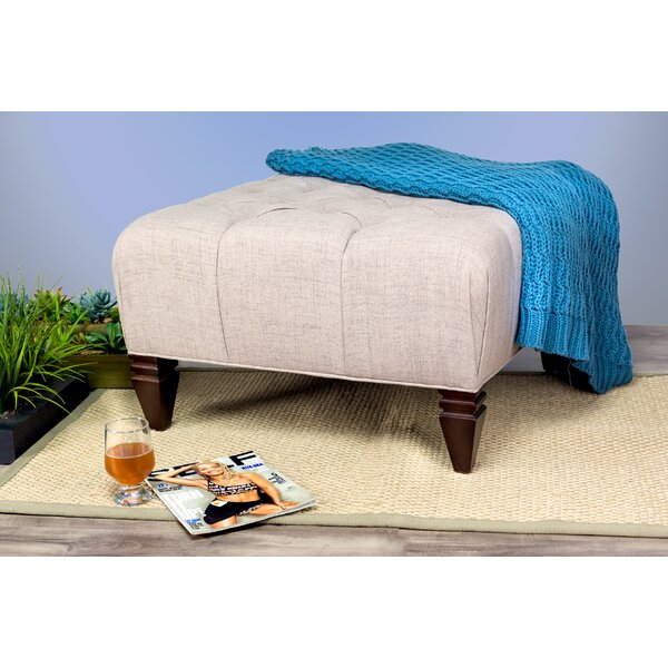 Germaine Tufted Cocktail Ottoman by Darby Home Co