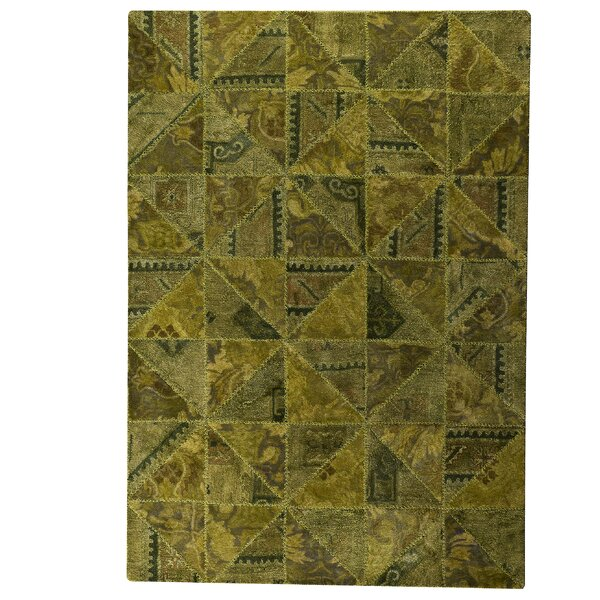 Avalon Tile Green Area Rug by Latitude Run